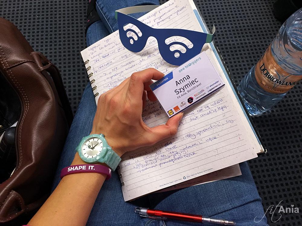 Notatki, notatki... Znów poczułam się, jak na studiach!