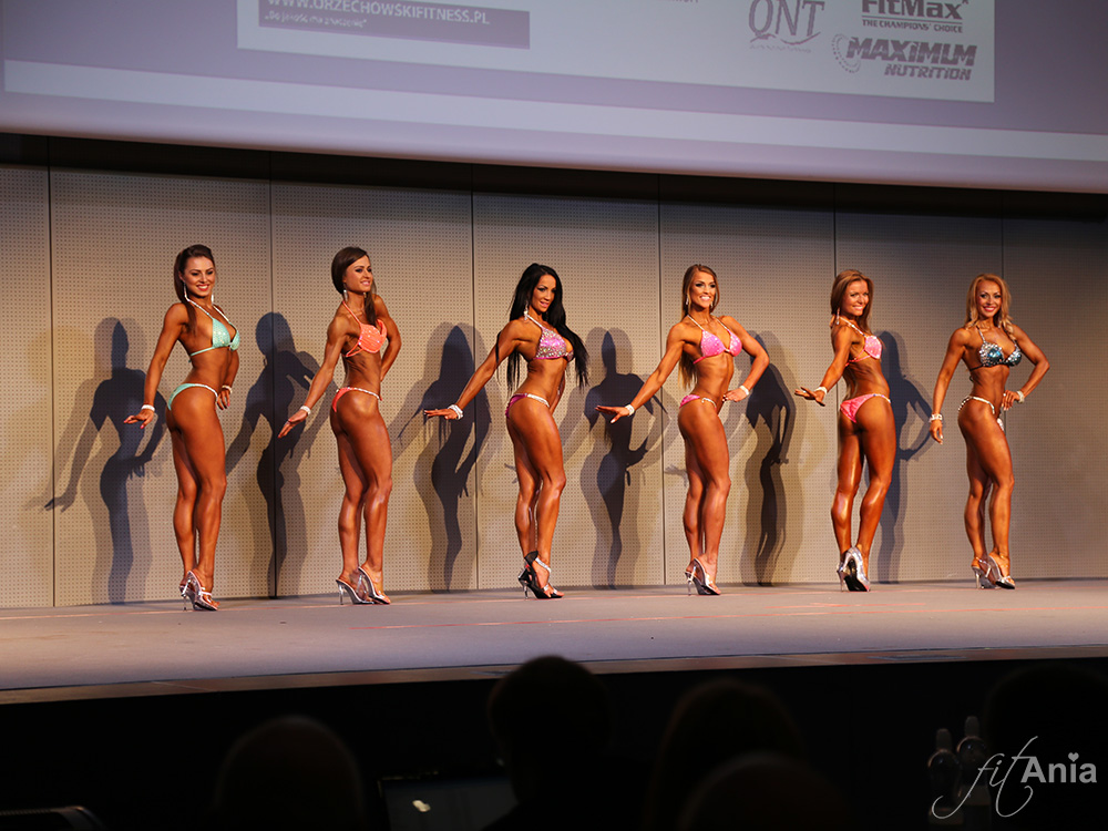 Kategoria Bikini Fitness do 163 cm. MP Kielce 2014.