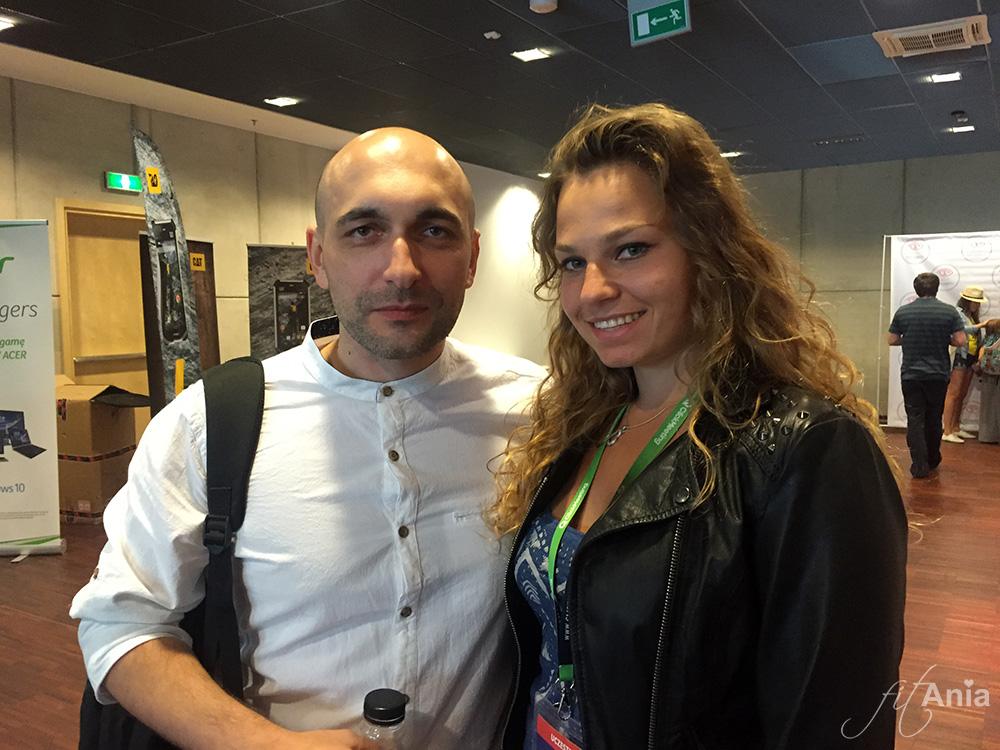 JasonHunt i Fit Ania - obowiązkowa wspólna fotka! ;)