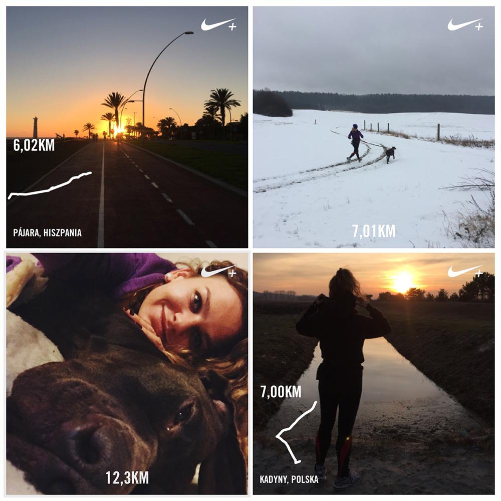 Nieważne, czy zimno, czy gorąco - trzeba było realizować swój biegowy plan!