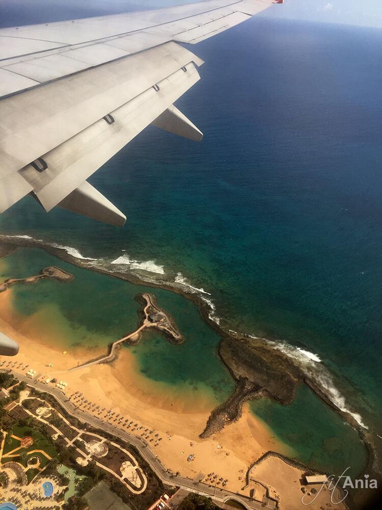 2018 okazuje się być rokiem podróży. Styczeń - lot na Fuerteventurę.