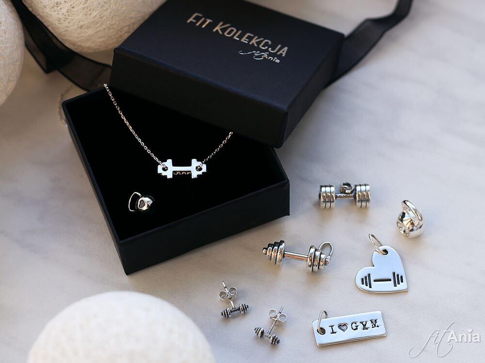 Fit Kolekcja - moja srebrna biżuteria sportowa.