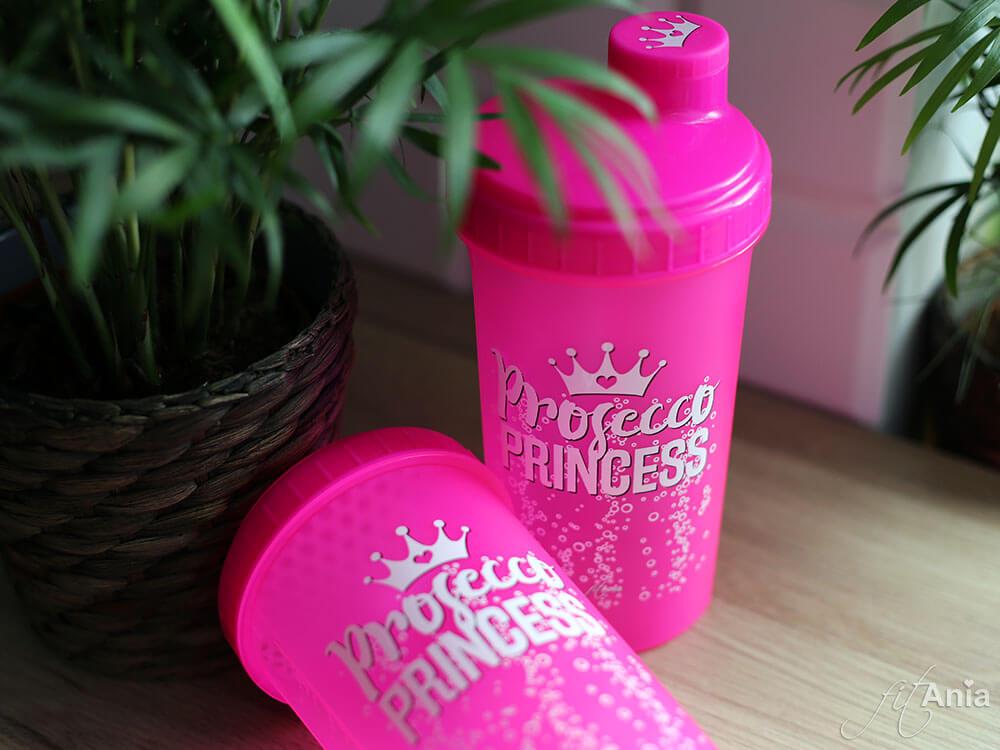 Mój szejker Prosecco Princess. Idealny fit prezent dla miłośniczek siłowni i bąbelków ;)