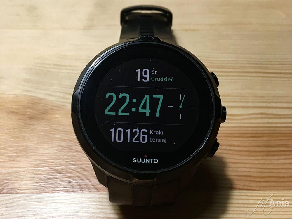 Smartwatch / zegarek sportowy Suunto.