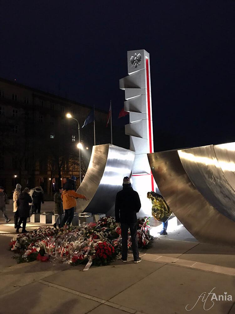 Pomnik Polski Morskiej w Gdyni - Święto Niepodległości 2018