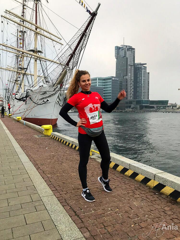 Fit Ania przed Biegiem Niepodległości, Dar Pomorza i Sea Towers Gdynia