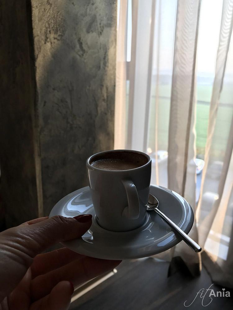 Espresso w pokoju hotelowym Nutrend World