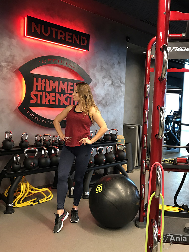 Trening na siłowni Nutrend World