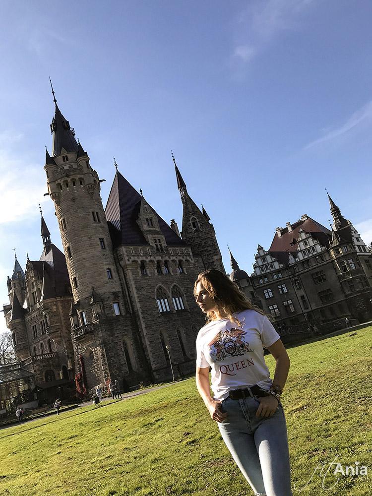 Krótka wizyta w pałacu Zamek Moszna