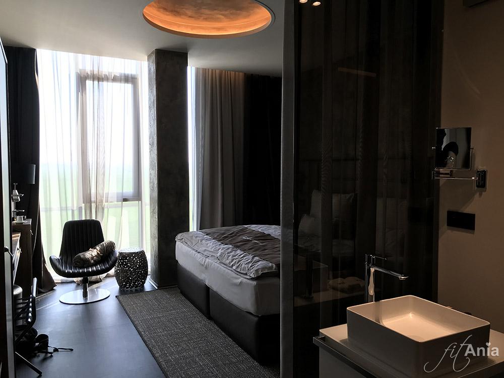 Nowoczesny pokój w hotelu Nutrend World