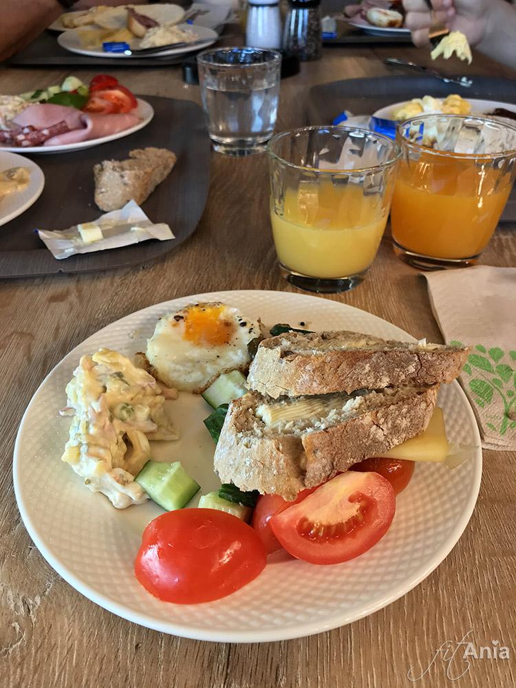 Wyśmienite śniadanie w hotelu Nutrend World