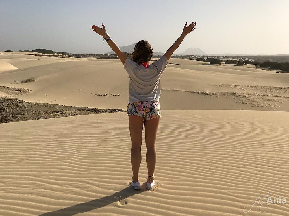 Szczęście. ♡ Deserto de Viana, Boa Vista, Republika Zielonego Przylądka